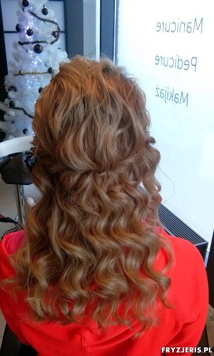 fryzura ślubna 43