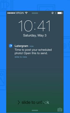app latergramme social media