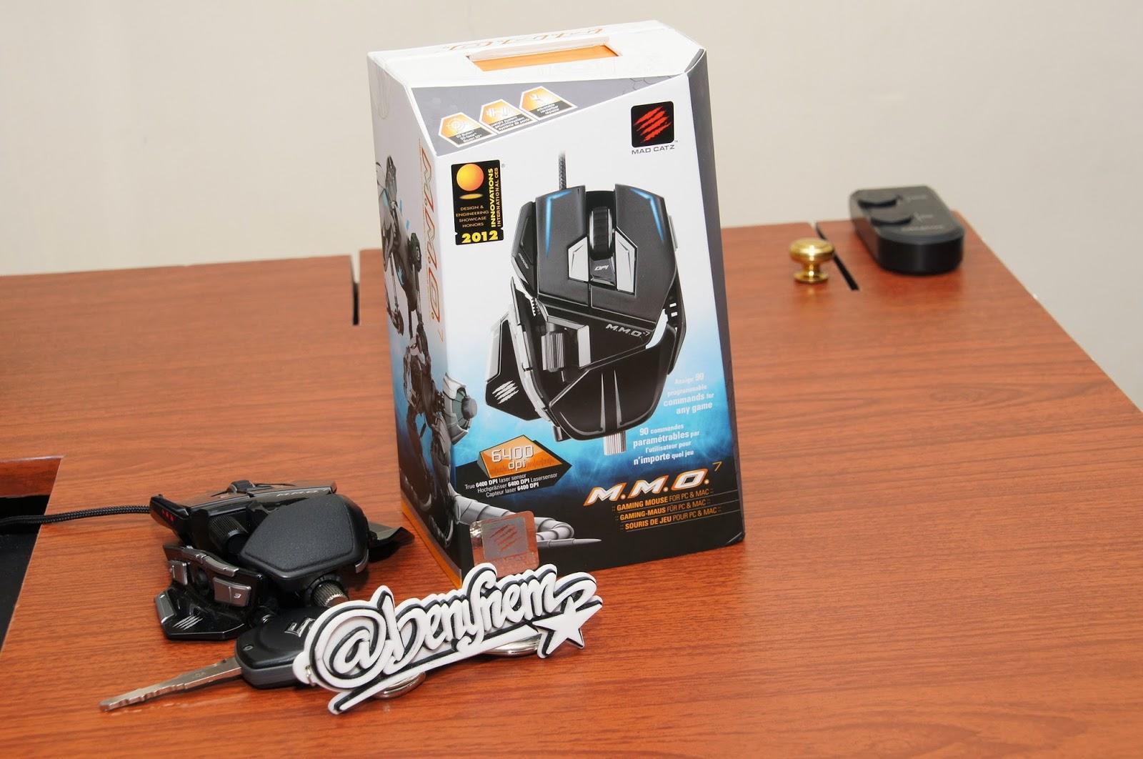 May 2015 Benklik Studio Madcatz Rat9 Wireless Gaming Mouse Putih Logam Pemberat Umum Ditemukan Pada Mahal