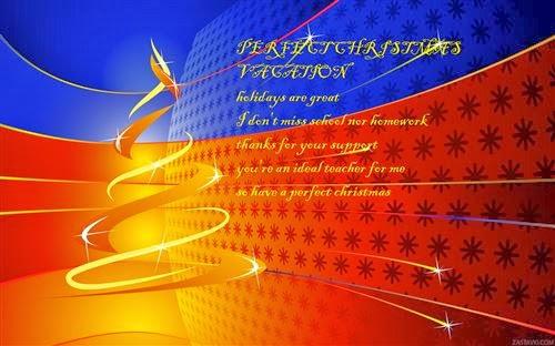 Unique Christmas Messages For Teachers 2013