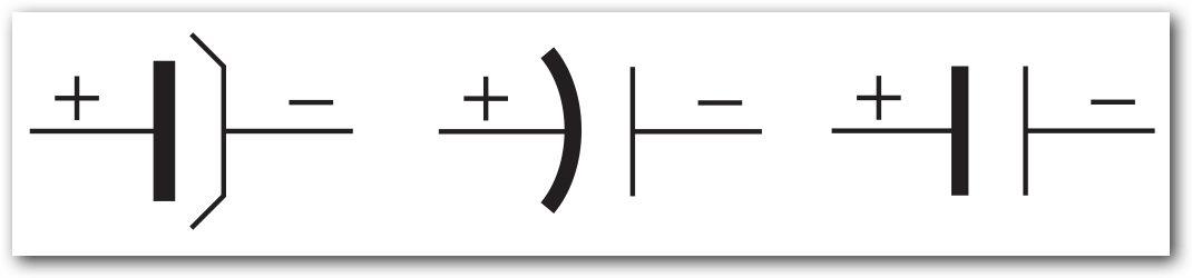 simbol kapasitor polar