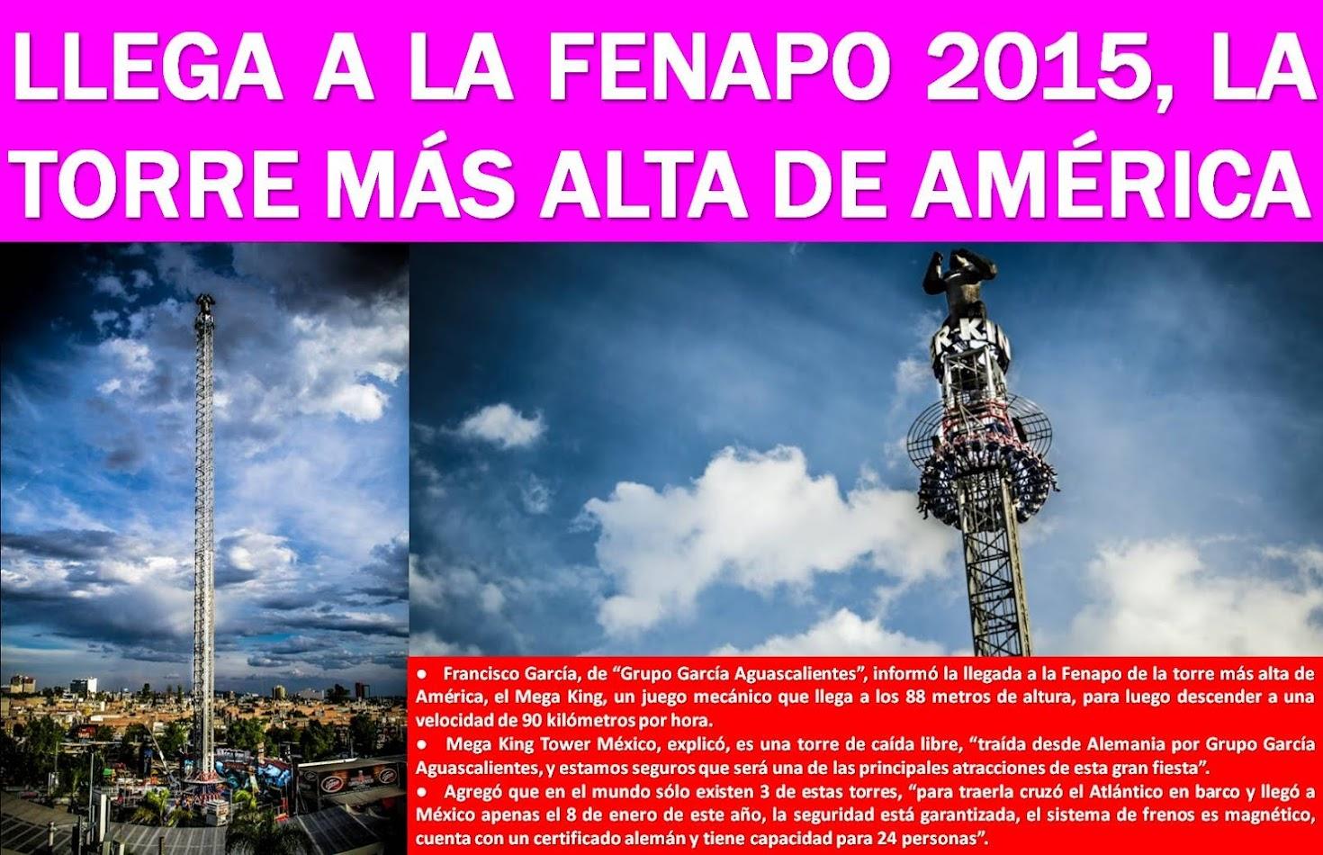 FENAPO 2015: LA MEJOR FIESTA DEL VERANO EN MÉXICO, Y EN EL MUNDO