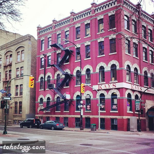 Downtown Winnipeg Canada