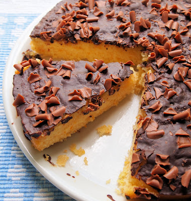 Chocolate Orange Drizzle Cake