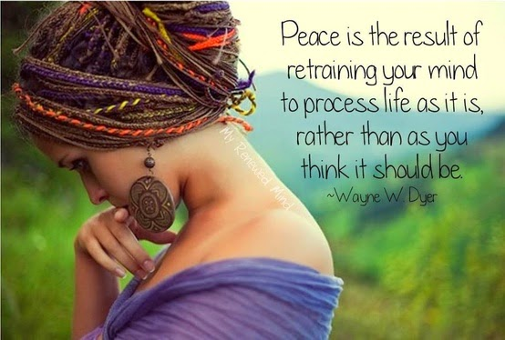 Wayne dyer Peace Quotes