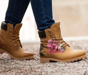 nuevas botas Panama 03 estampado naturaleza para mujer 2015-2016