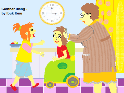 cerita anak: sahabat keypad