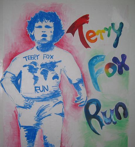 Terry Fox AssemblyTerry Fox Poster