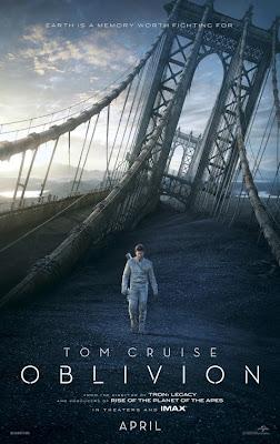 Oblivion 2013 film movie poster