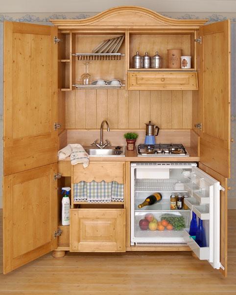 Boiserie c la cucina nell 39 armadio - Cucina armadio ikea ...