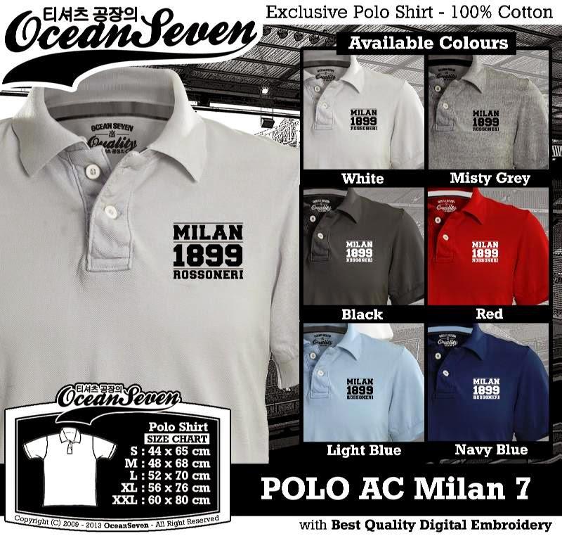 Kaos Polo AC Milan 7