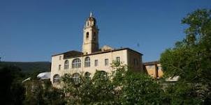 La chapelle du sanctuaire Notre Dame de Laghet