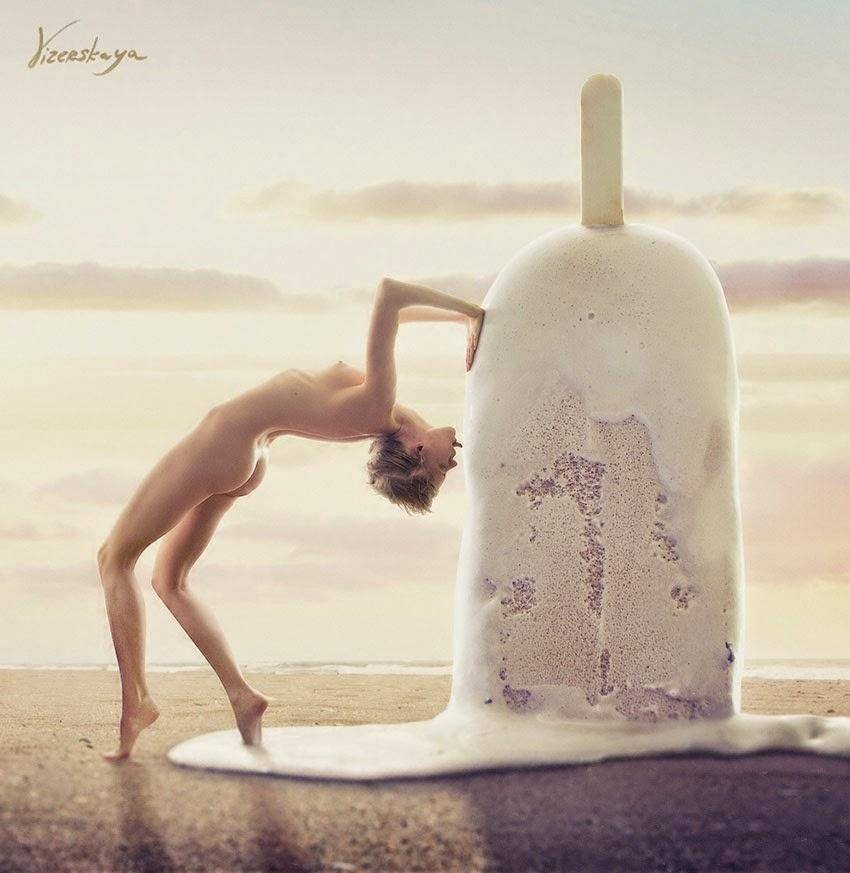 Elena Vizerskaya, fotografía digital surrealista