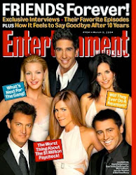 ENTERTAINMENT WEEKLY - FRIENDS FOREVER!