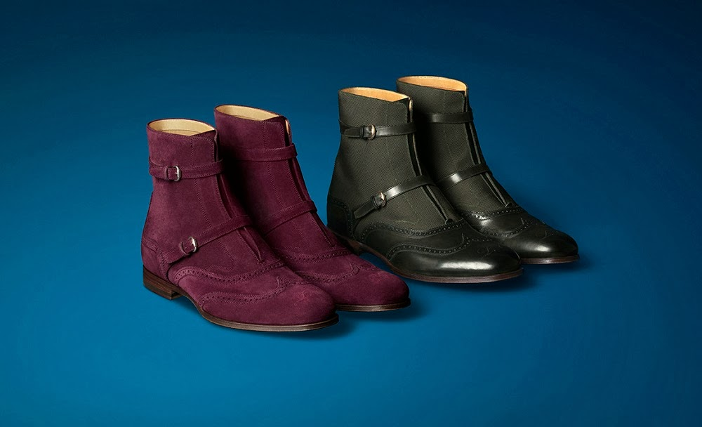 GUCCI LAPO ELKAN'S WARDROBE BOOTS SHOES