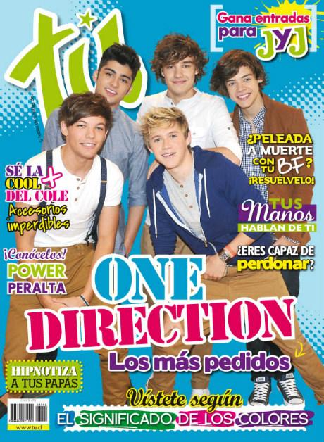 One Direction en la revista TU, Chile