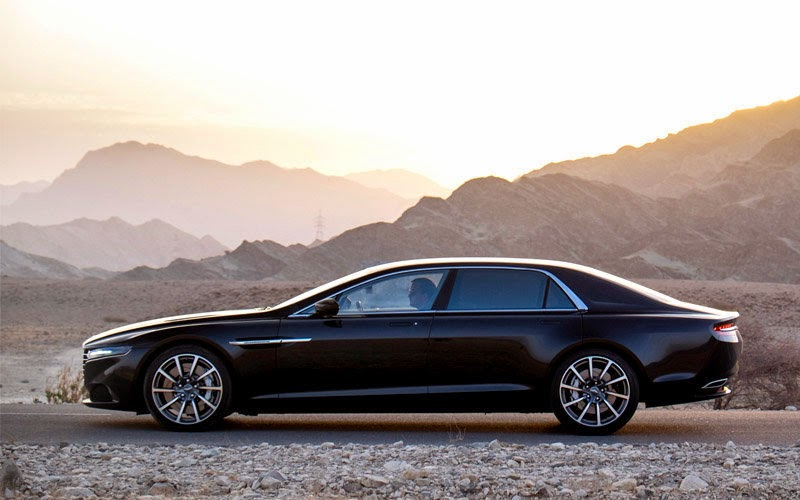 2016 Aston Martin Lagonda Side