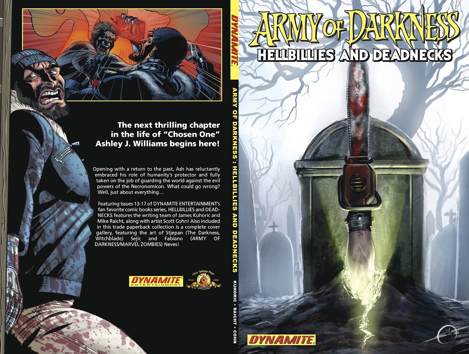Army of Darkness: Hellbillies and Deadnecks issue TPB - Page 1