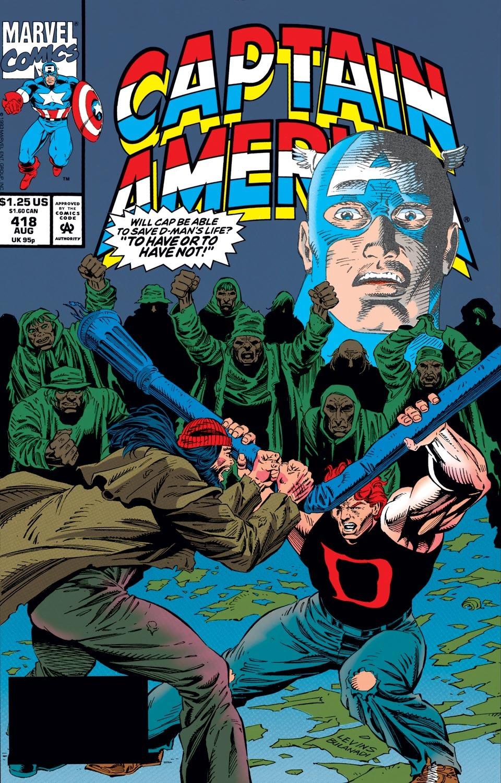 Captain America (1968) Issue #418 #367 - English 1