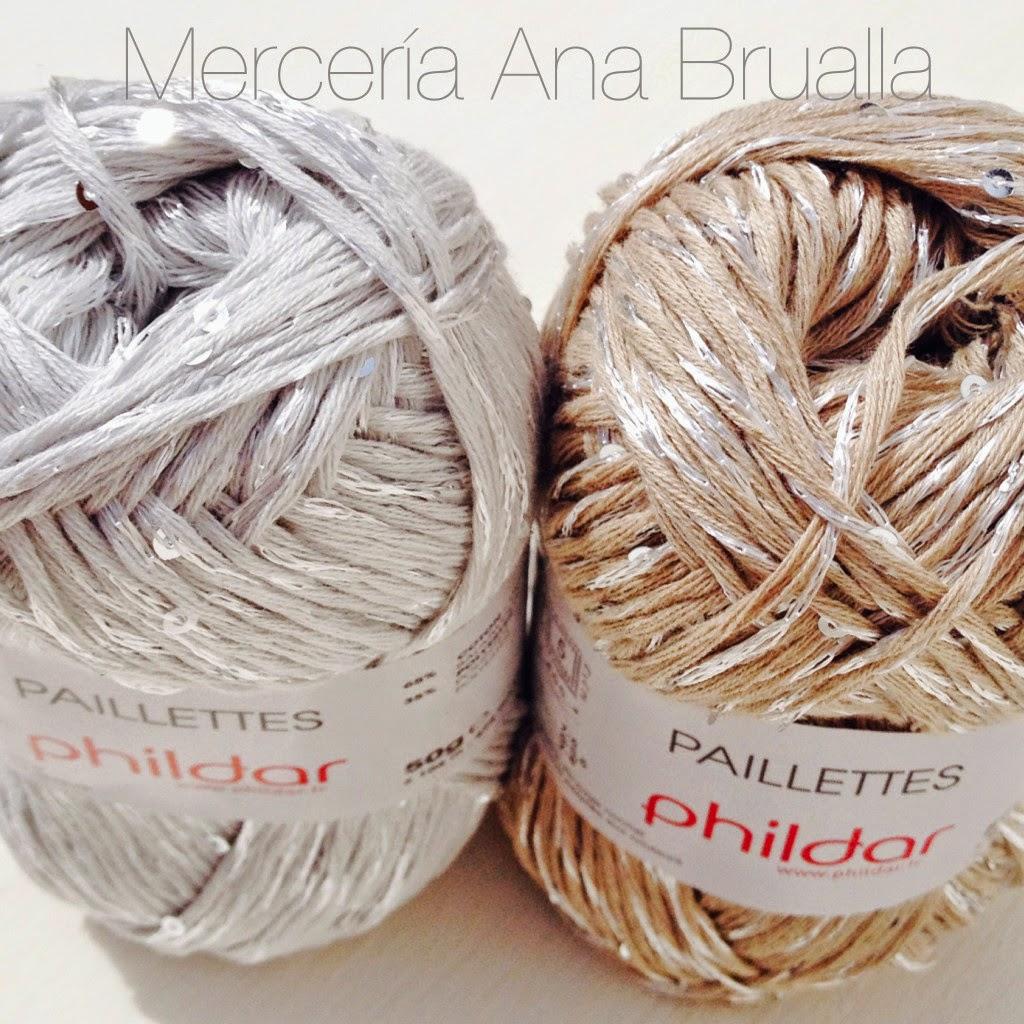 Pailletteso Ovillos de Algodón de Merceria Online Brualla