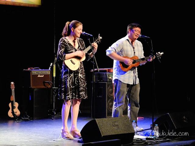 Sarah Maisel and Craig Chee at the Atkinson