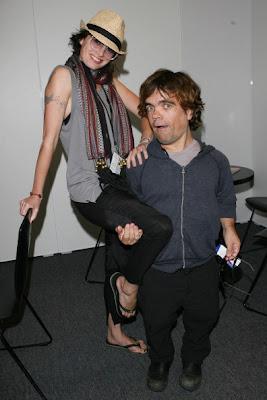 Peter Dinklage (Tyrion) y Lena Headey (Cersei) - Juego de Tronos en los siete reinos