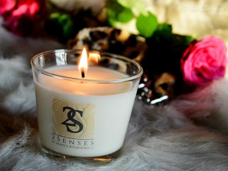 Naturalna świeca do masażu Bergamotka i werbena