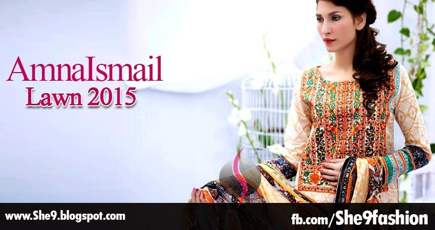 Amna Ismail Lawn Magazine