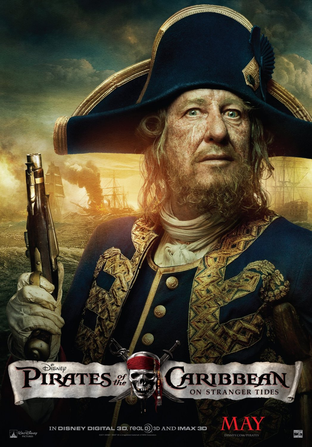 What do you think of those posters of pirates of the caribbean 4?