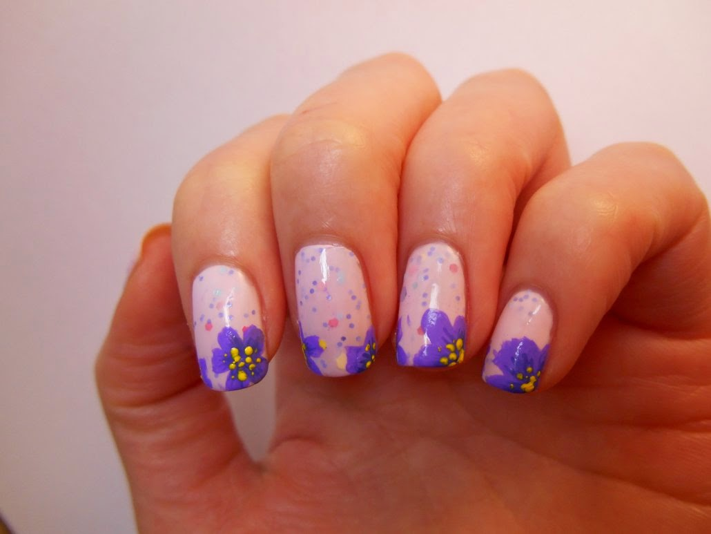 Vp nails c 39 est d j le printemps sur mes ongles - Nail art printemps ...