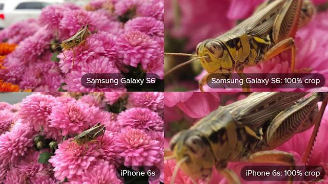 Galaxy S6 Camera Vs iPhone 6S Camera
