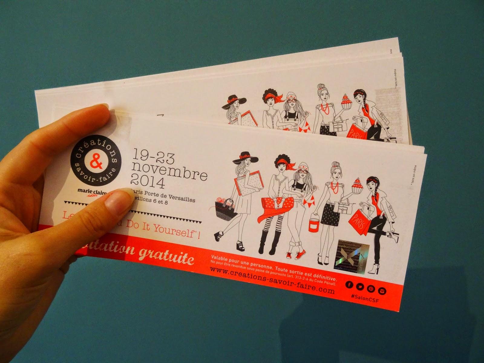 Rose minuscule invitations pour le salon cr ations et - Salon creation et savoir faire invitation ...