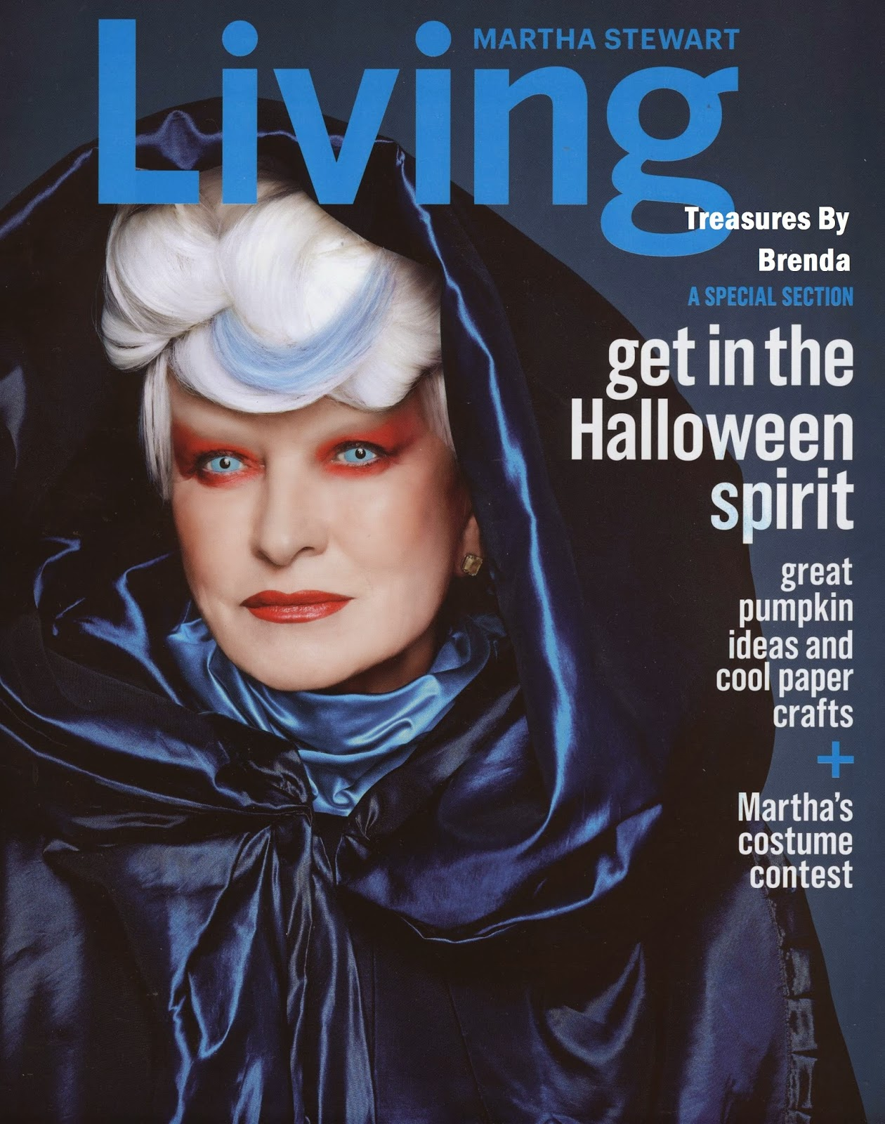 martha stewart halloween magazine 2014
