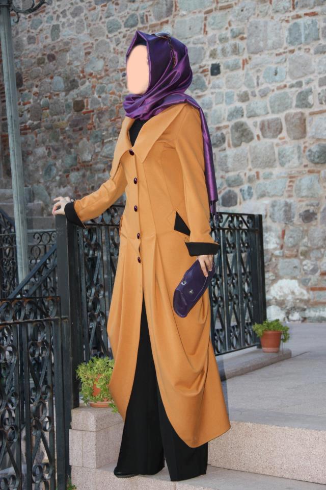 ملابس للحجاب بتصاميم راقية