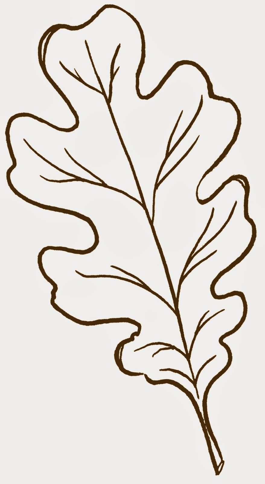 Leaf Templates To Cut Out Myideasbedroomcom