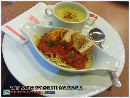 Kenny's Cherish Meal - Souperior Spaghetti Casserole