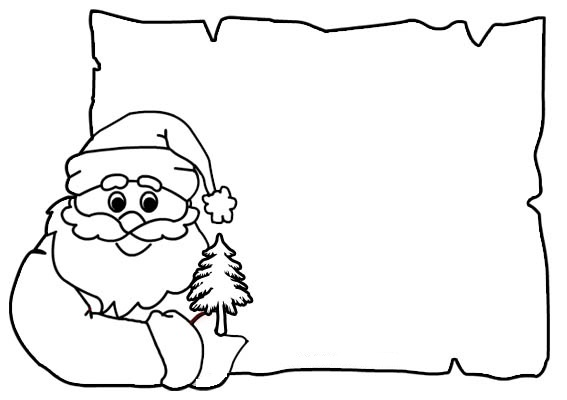 Biglietto - Babbo Natale
