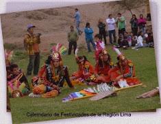 Calendario de Festividades Región Lima