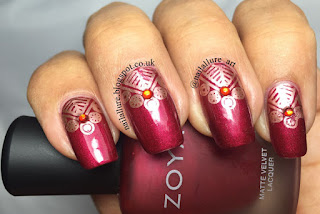 MoYou London Explorer 07 Diwali Manicure