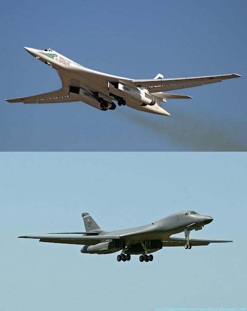 El modernizado bombardero ruso Tu-160 - Taringa! B1 Lancer Vs Tu 160