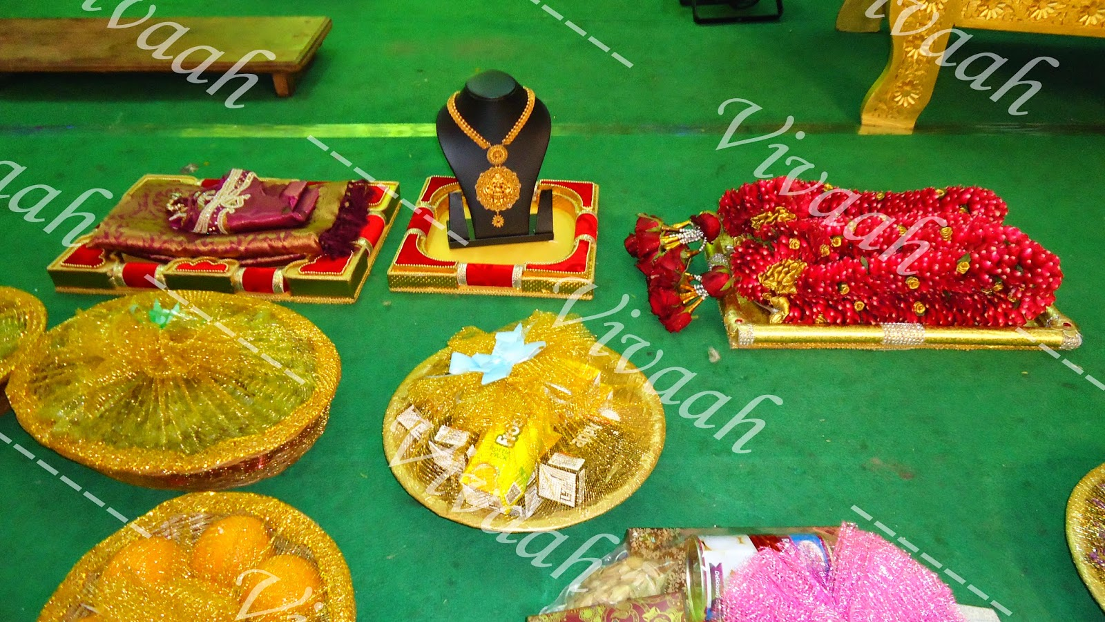 Vivaah aarathi plates for Aarathi plates decoration