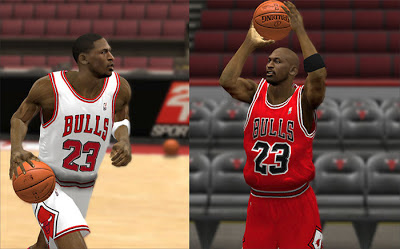 NBA 2K13 Chicago Bulls Retro Jersey Mod