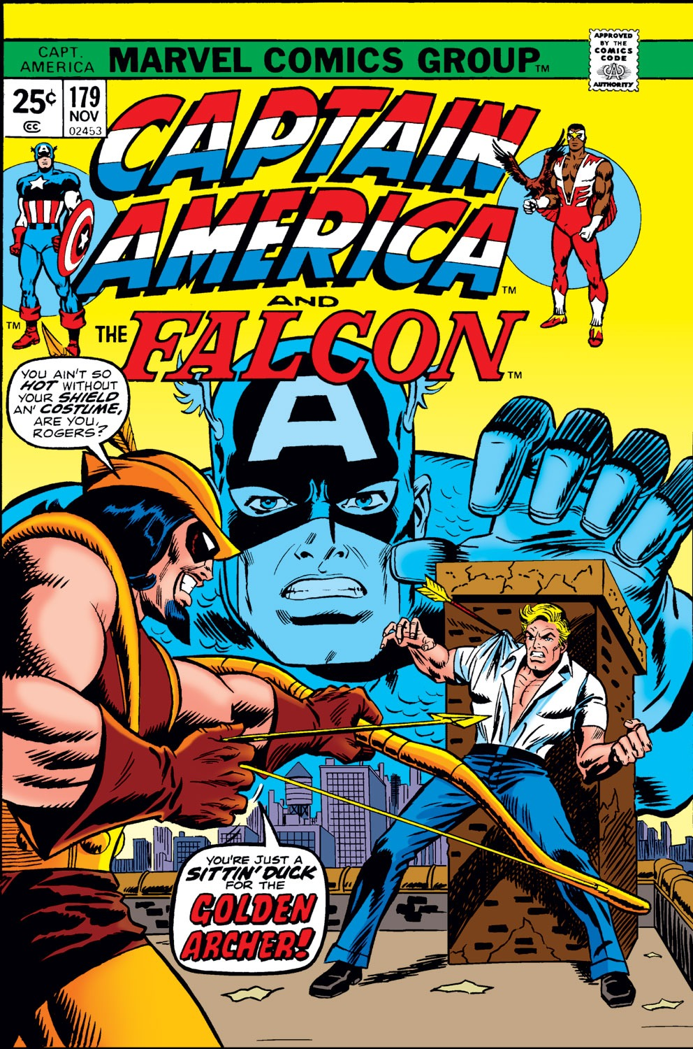 Captain America (1968) Issue #179 #93 - English 1