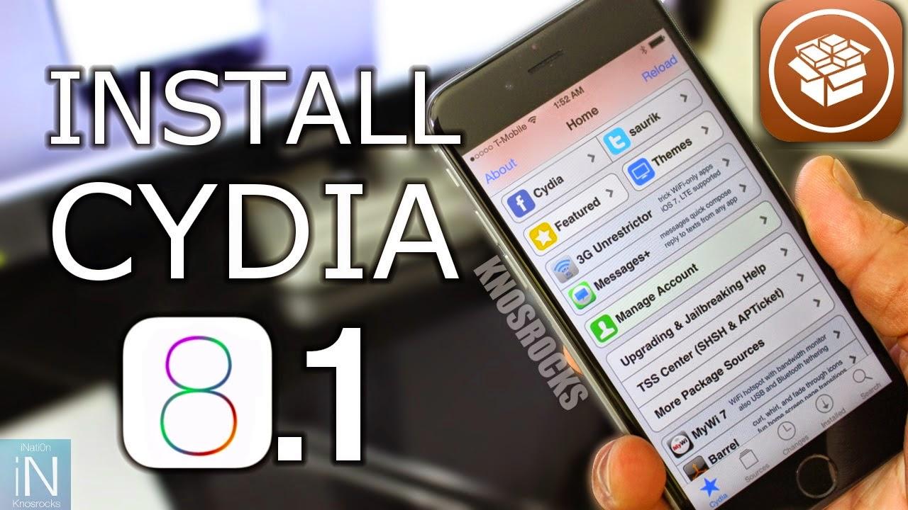 install cydia ios 8.1