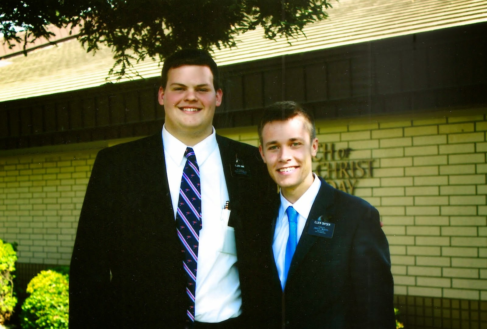 2ND COMPANION AND TRAINEE, ELDER SNYDER