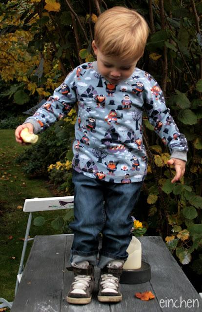 lillestoff Kinderstoffe Wikinger aus GOTS Biostoff