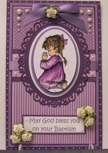 ODBD Precious Girl, Noah's Ark, Customer Card of the Day diannep575