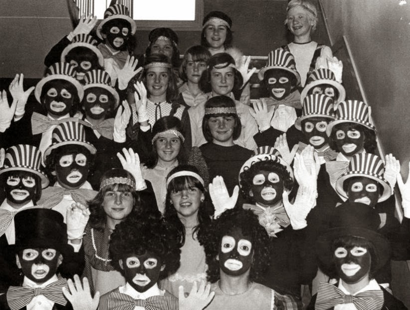 Black faces all round