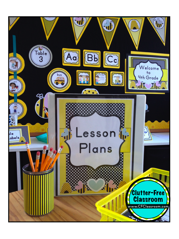 Bees Themed Classroom