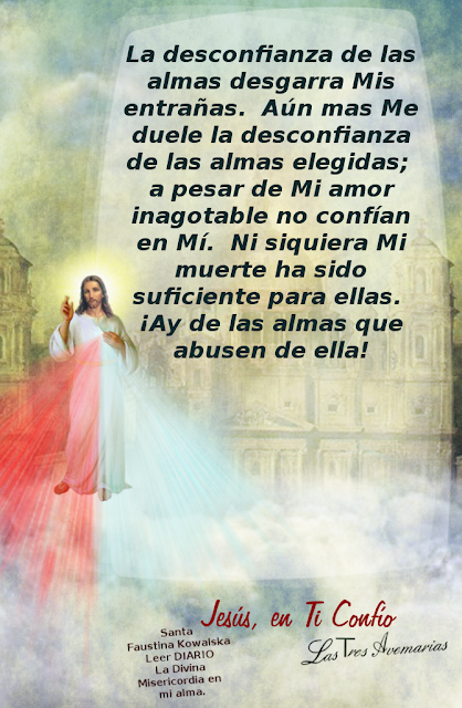 texto del diario la divina misericordia habla jesus a santa faustina